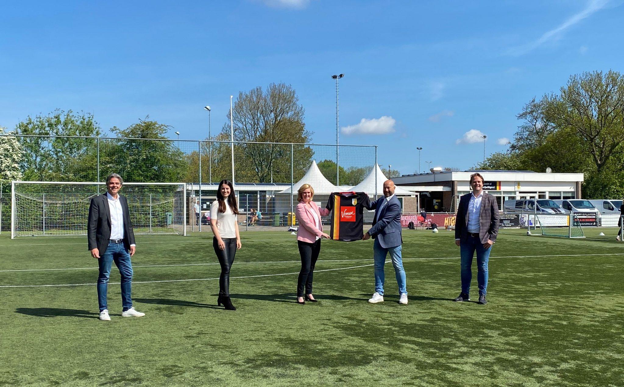 Schagen United verwelkomt Vomar als nieuwe hoofdsponsor van de jeugd