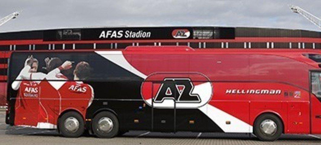 Met de bus naar AZ
