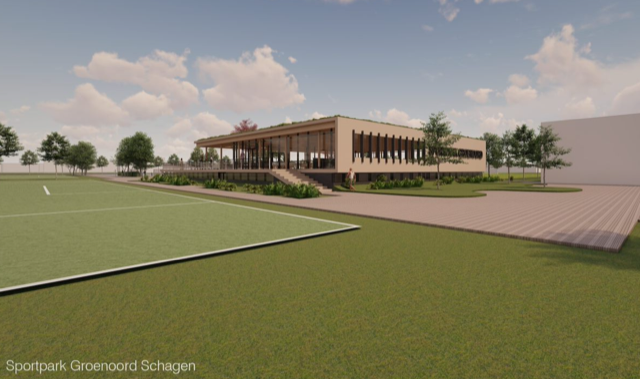 Voortgang ontwikkeling sportpark Groenoord