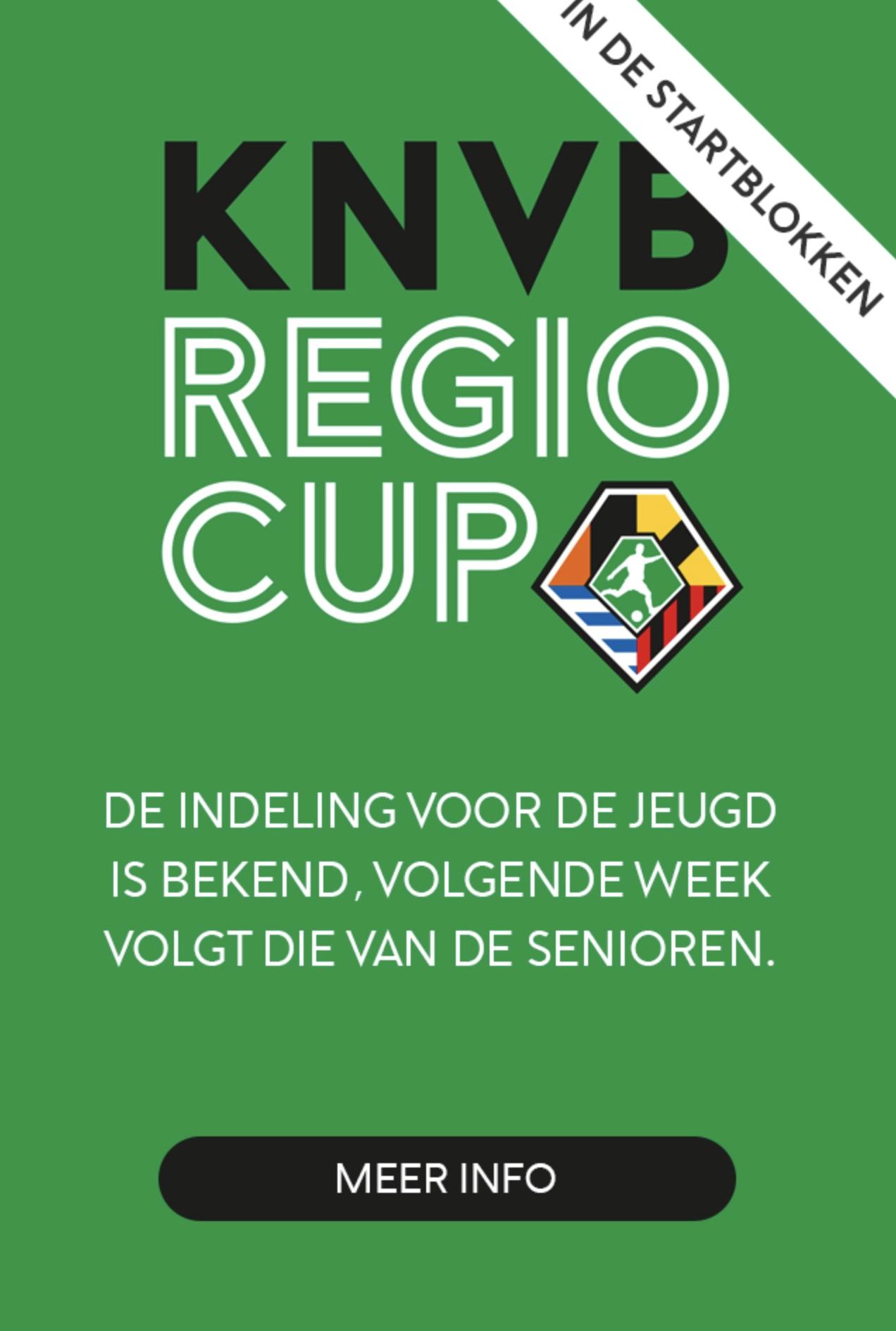 KNVB druk bezig met voorbereiding Regiocup